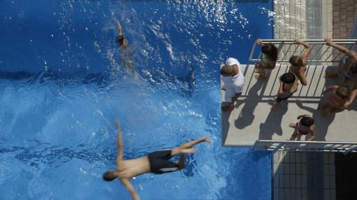 kinder fun swimming pool in frankfurt